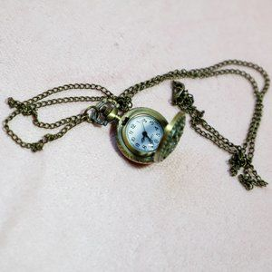 SEWOR Pocket Watch Necklace